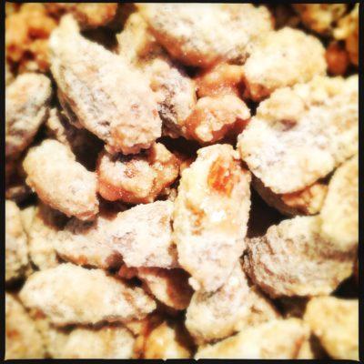 Sukrede mandler