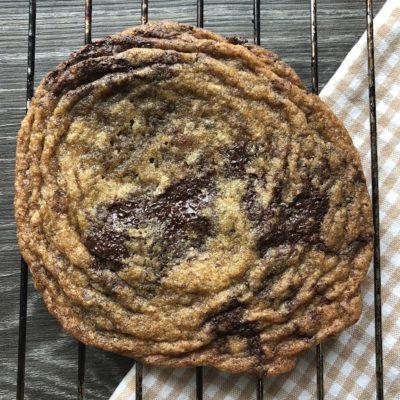 Digre dunke-cookies med sjokolade