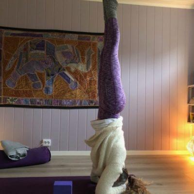 Yoga: når verden er opp ned