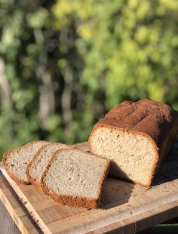 Løperbrød laup brød og skiver utendørs