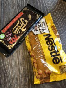 Diggekaker sjokoladeplate 70% butterscotch Gunn Helene Arsky