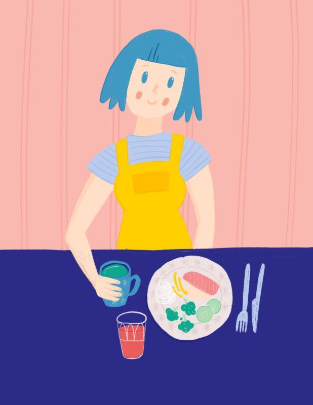 Fodmap diett illustrasjon Gunn Helene Arsky