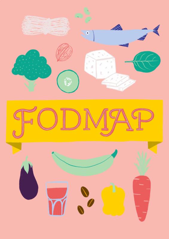 Fodmap matvarer illustrasjon Gunn Helene Arsky